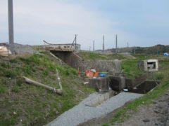 鉄道施設も復旧途中