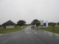 雨が強くなってきた