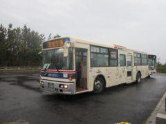シャトルバスで阿字ヶ浦駅へ。
