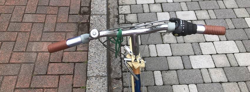 この自転車ともお別れ