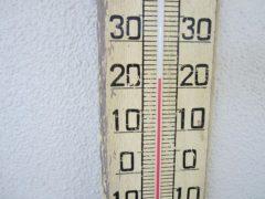 気温は22度