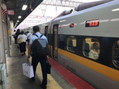 あっという間に博多南駅に到着