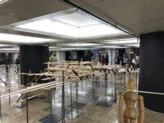 まず目に留まったのが新宿駅の立体模型