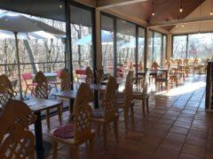 併設のカフェ
