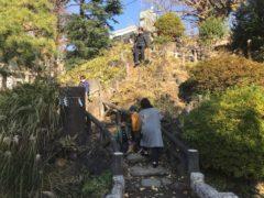 久しぶりに富士塚を登る