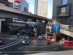 どんどん変わっていく渋谷駅前