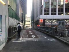 渋谷川に掛かる橋