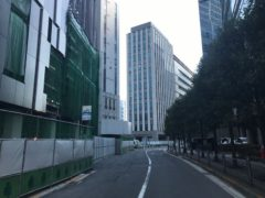 旧東横線渋谷駅のホームがあったあたり