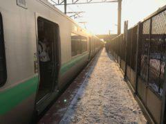 稲積公園駅で下車