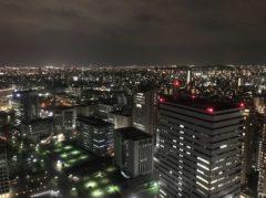 福岡の街を一望…