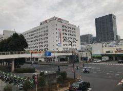 品川駅に戻ってきた