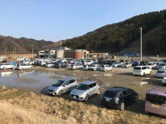 車が駐車しているあたりも住宅地だった