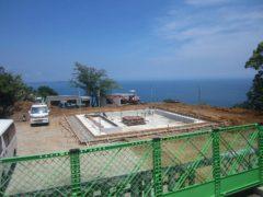 建設中のCOEDA HOUSE(2017年5月)