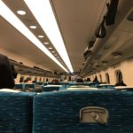 東海道新幹線車内で…(以前乗車した時の写真)
