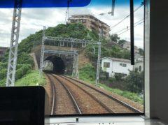 トンネルが次々と…