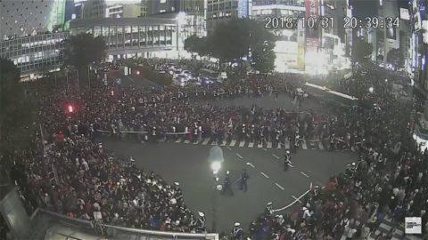 10月31日20時39分の渋谷