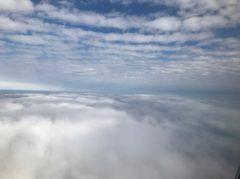 雲の上に雲…