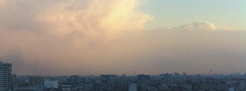 2011年3月11日の空