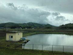 里山と田んぼ…