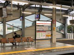 伊勢崎は高架駅