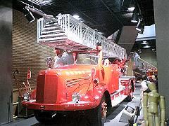 消防博物館にて