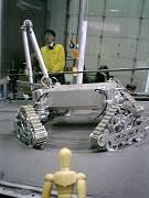 初公開の月面車