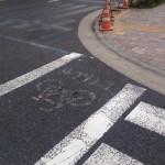 消えた横断歩道(奥)
