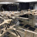 新宿駅地下の立体模型