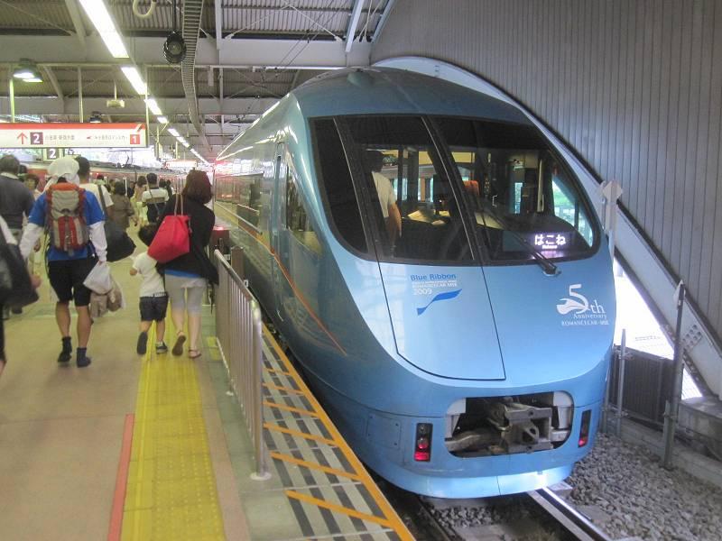 現在使用中の小田急60000形電車