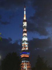 2018年8月17日の東京タワー