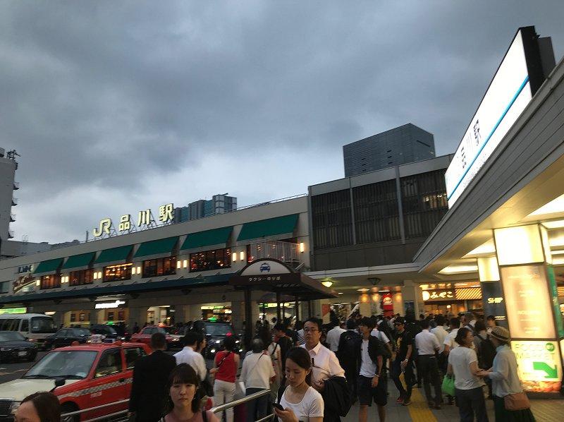ほんとに何もない品川駅
