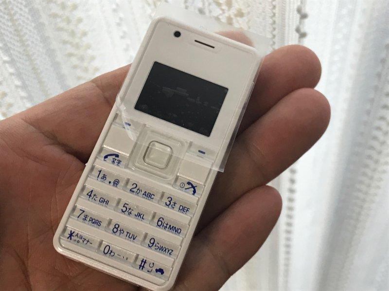 新品になって帰ってきたストラップフォン2