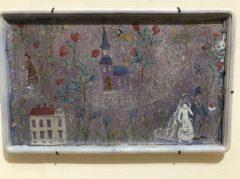 物語的な陶板画