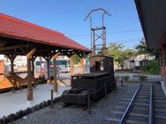 木製の機関車風