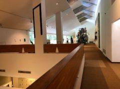 開放感のある美術館