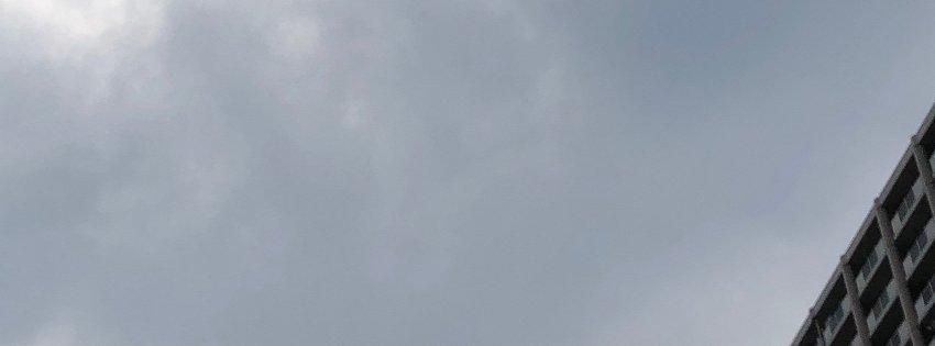 今日は曇っていたけど…