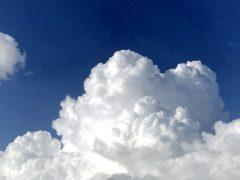 今日の入道雲