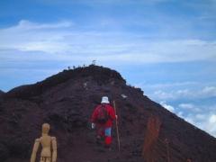 夏でも怖いところは多かった富士山