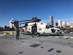 潜水艦調査用のヘリコプター