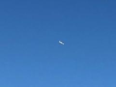 検査のための小型飛行機