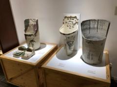 古くからある陶器の便器