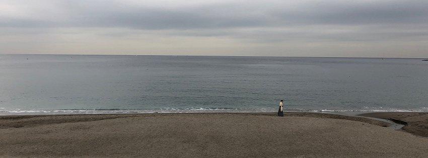 海を見てるといろいろ考えてしまう