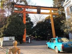 氷川神社は久しぶり