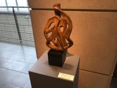 彫刻展示は5点