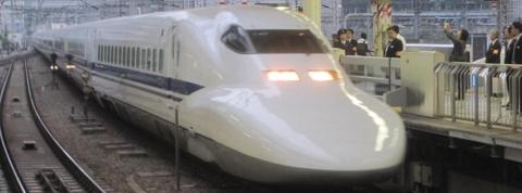 もう東海道新幹線では見られない(2014年10月1日)
