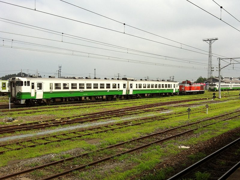 譲渡された同型車(2012年8月3日小牛田駅)