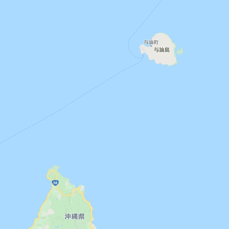 与論島…沖縄がすぐ目の前