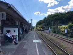 大多喜駅にやってきた