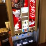 コーラがなくなり炭酸水へ…