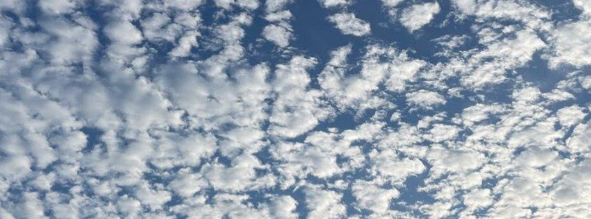 うろこ雲?ひつじ雲?